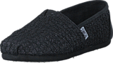 Toms - Seasonal Classic Youth Black Lace Glimmer