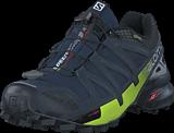 Salomon - Speedcross 4 Nocturne GTX® NavyBlazer/OmbreBlue/LimePunc
