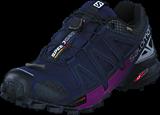 Salomon - Speedcross 4 Nocturne GTX® W Evening B/R.Silver/Grape Juice