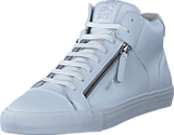 Jim Rickey - Zed Mid Leather White Mono