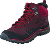 Keen - Terradora Leather Mid Wp Wine/Rododendron