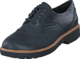 Clarks - Witcombe Echo Black Nubuck