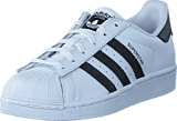 adidas Originals - SUPERSTAR J FTWWHT/CBLACK/CBLACK