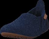 Bisgaard - Home Shoe Wool Sailor Blue