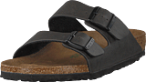 Birkenstock - Arizona Regular Vegan Birko-flor Pull Up Antracite