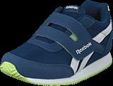 Reebok Classic - Royal Cljog 2 Kc Washed Blue/White/Lime Glow