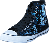 Converse - All Star Hi Sequins Midnight Indigo