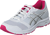 Asics - Patriot 9 White/silver/fuchsia Purple