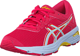Asics - Gt-1000 6 Gs Rouge Red/white/vibrant Yellow