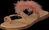 Bianco - Feather Slip In Sandal Powder