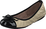 Butterfly Twists - Olivia Beige/black