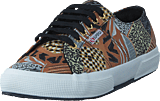 Superga - Fabricfanplw Ethnic Brown-black