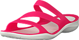 Crocs - Swiftwater Sandal W Paradise Pink/white