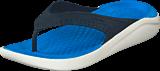 Crocs - Literide Flip Navy/white