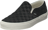 Vans - Ua Classic Slip-on Checker Black/marshmallow