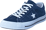 Converse - One Star Navy/white/white