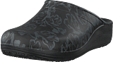 Crocs - Sloane Graphic Clog Women Metallic Rose/black